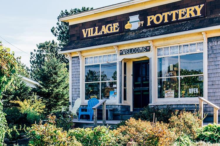 Die Village Pottery in New London, PEI
