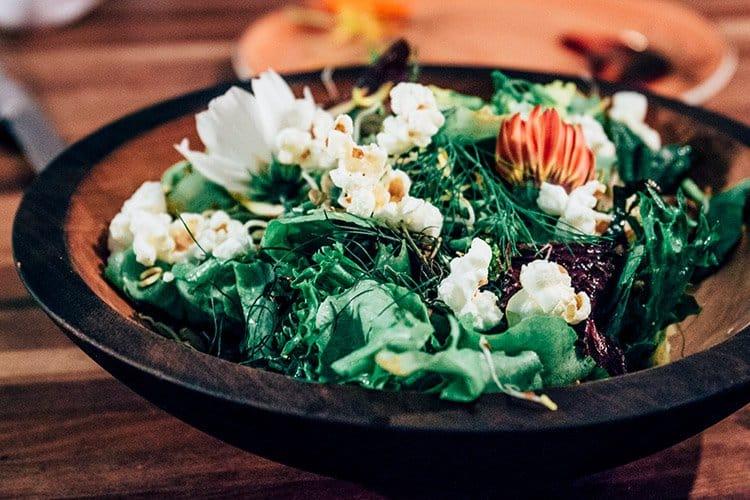 Der Salat im FireWorks