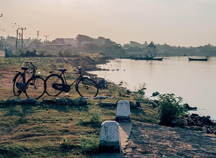 Blick vom Jaffna Fort