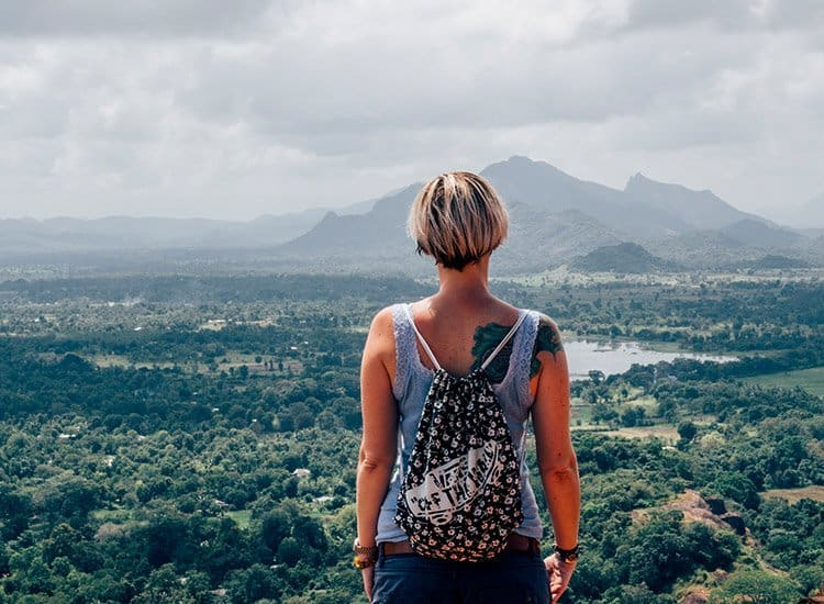 On top of Sigiriya