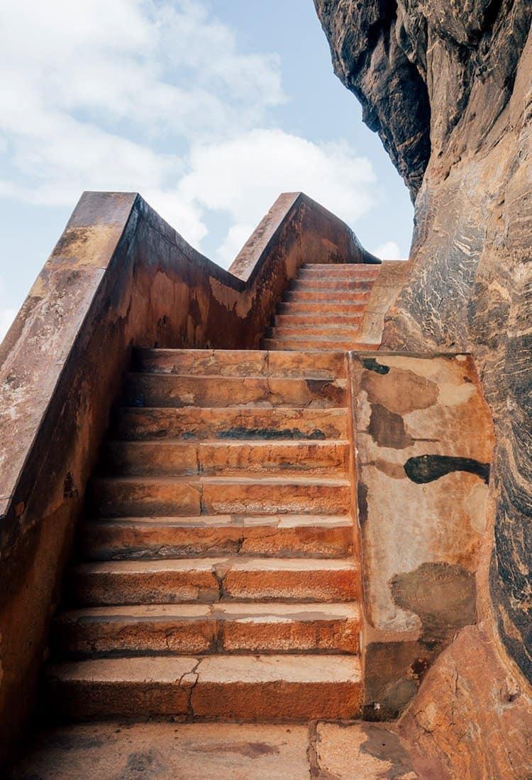 Spiegelwand Sigiriya