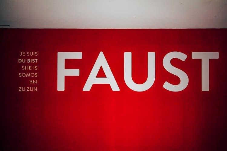 """Ausstellung """"Du bist Faust"""""""