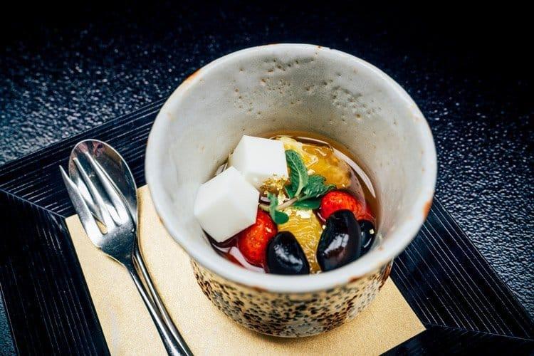Abendessen im Suimeikan