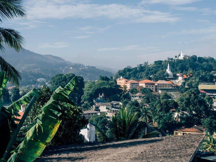 Buddhas Zahn und mehr in Kandy