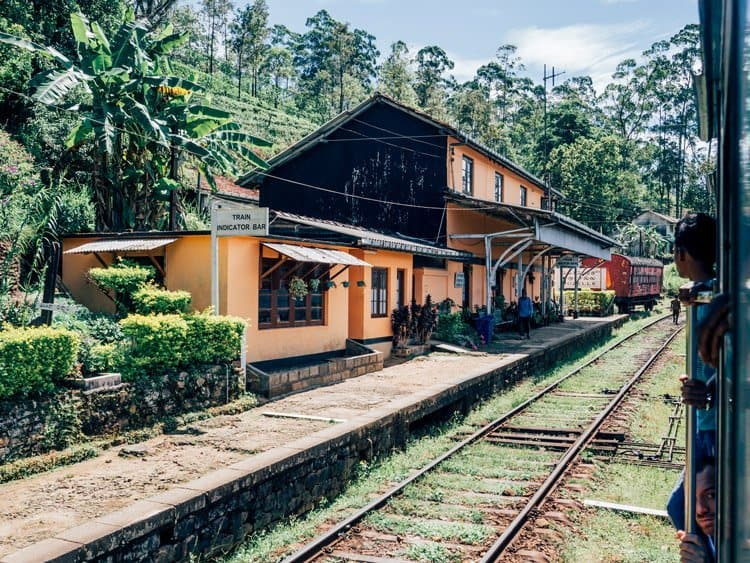 Die Zugfahrt – absolutes Highlight meiner Reise nach Sri Lanka