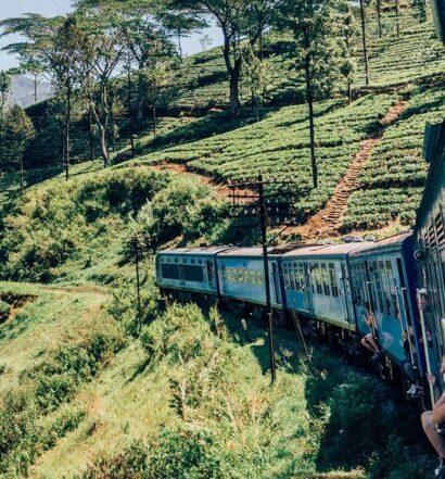 Sri Lanka – Eine Zugfahrt durch das Hochland