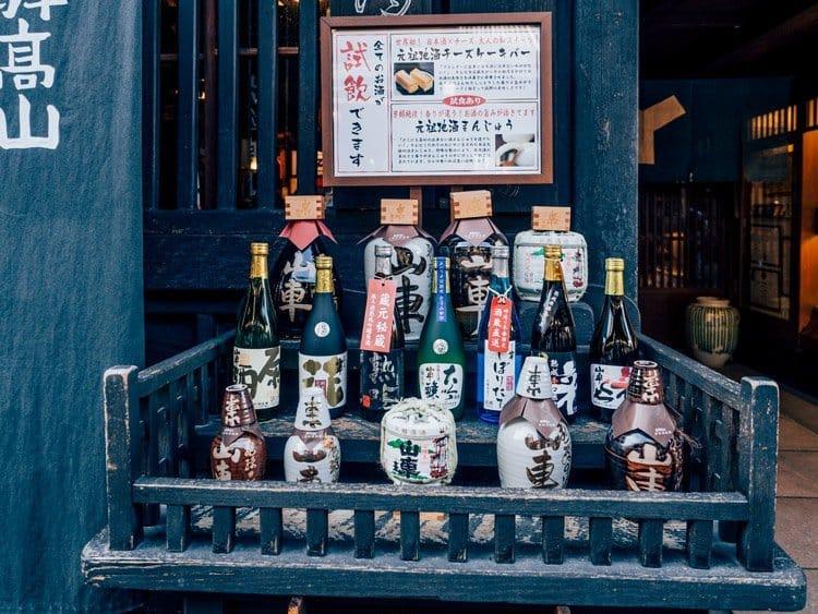 Die Sake Brauereien von Takayama