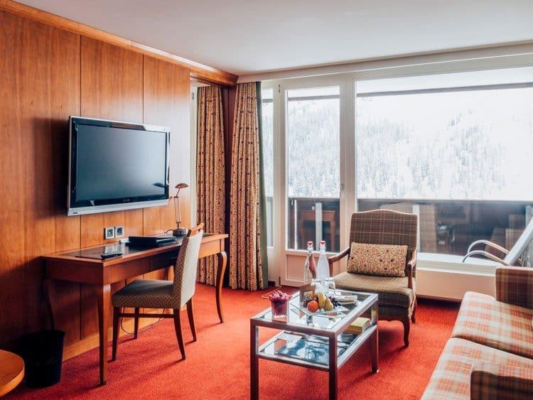 Zimmer im Arosa Kulm Hotel