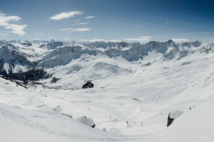 Das Skigebiet Arosa Lenzerheide