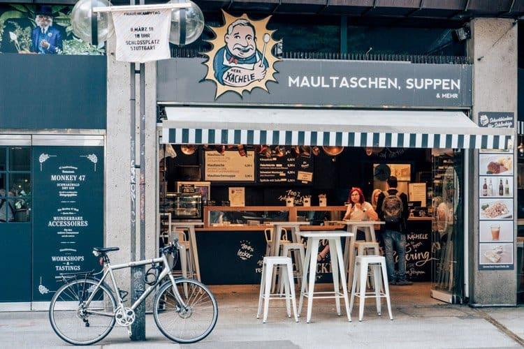 Schwäbisches Fast-Food bei Herrn Kächele