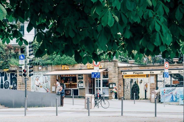 Der Eugensplatz