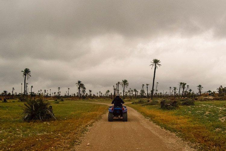 Quad-Tour in Marrakeschs Palmenhainen