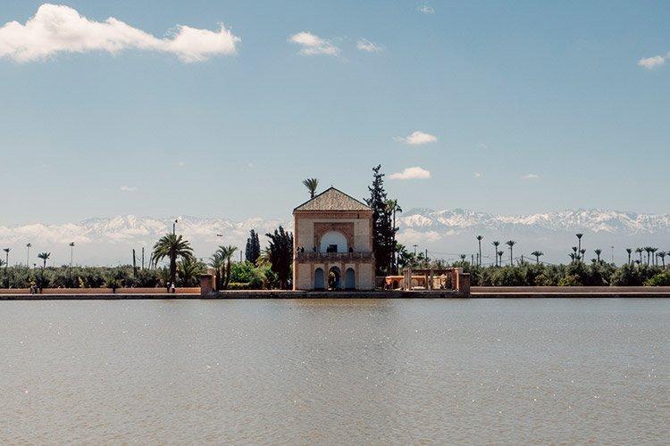 Der Menara-Garten