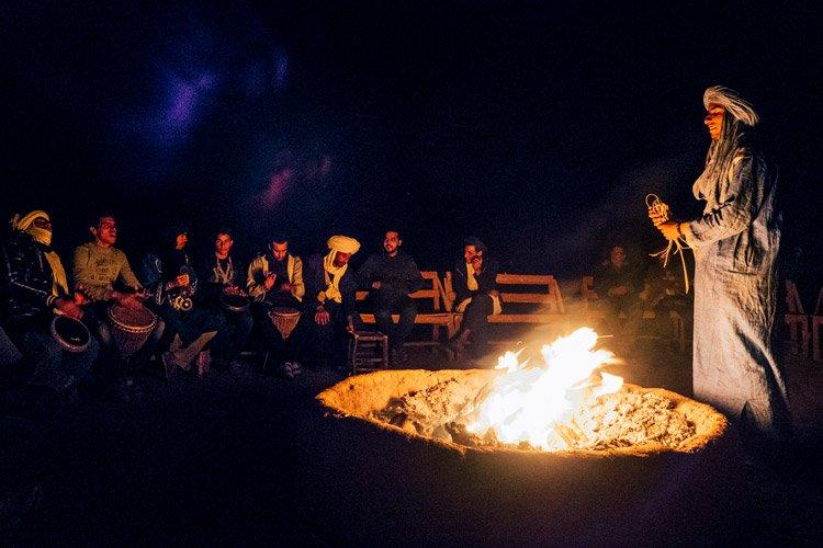 Zagora – eine Nacht in der Wüste Marokkos