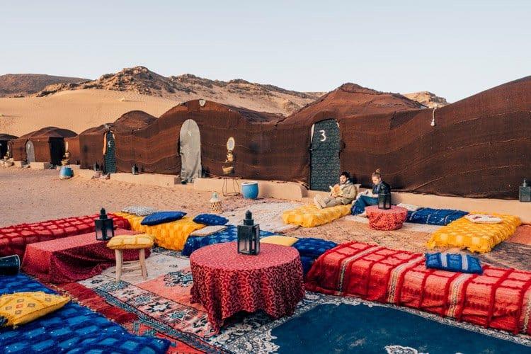 Glamping in der Wüste Marokkos