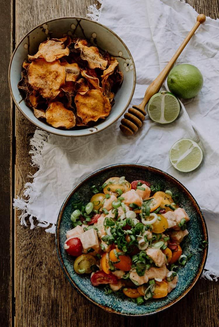 Lomi Lomi – Hawaiianischer Lachssalat