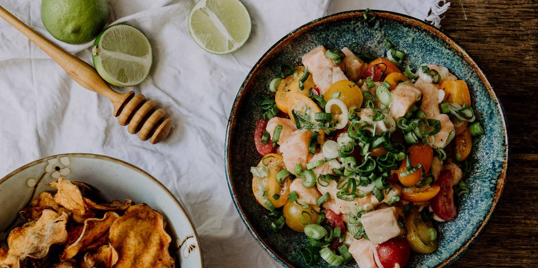 Lomi Lomi – Rezept hawaiianischer Lachssalat | Reisehappen