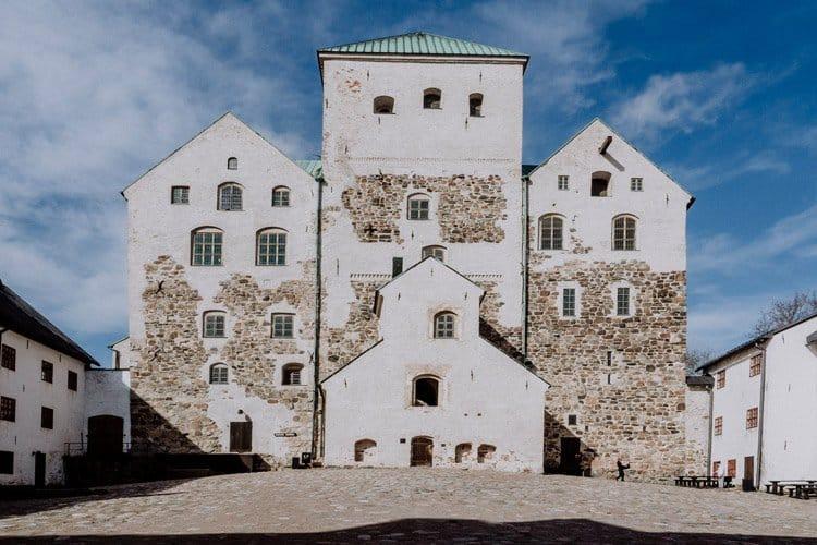 die Burg von Turku