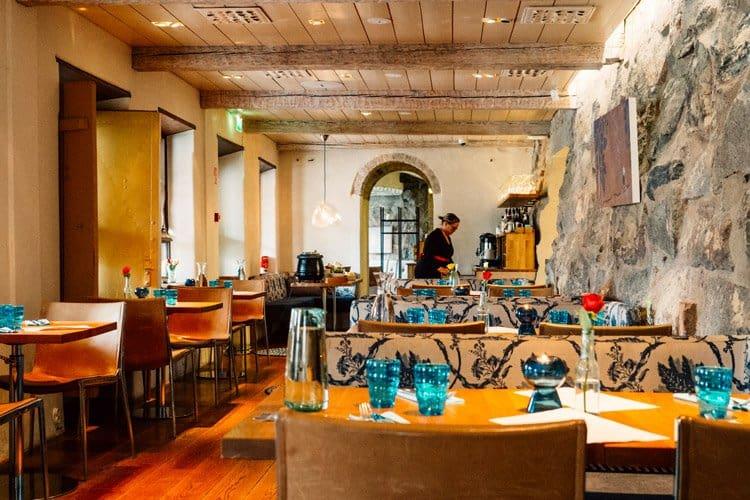 Das Restaurant Pinella