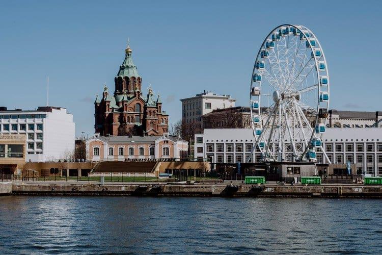 Die Uspenski-Kathedrale in Helsinki