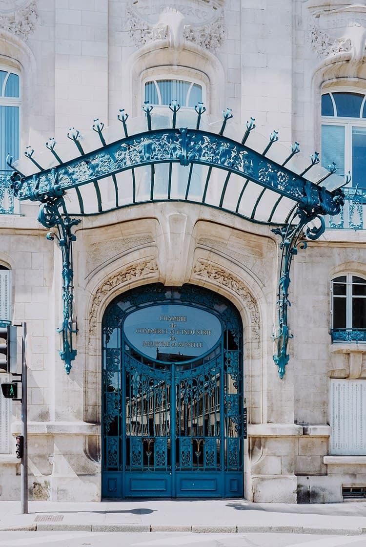 Ein Spaziergang auf den Spuren des Jugendstil in Nancy