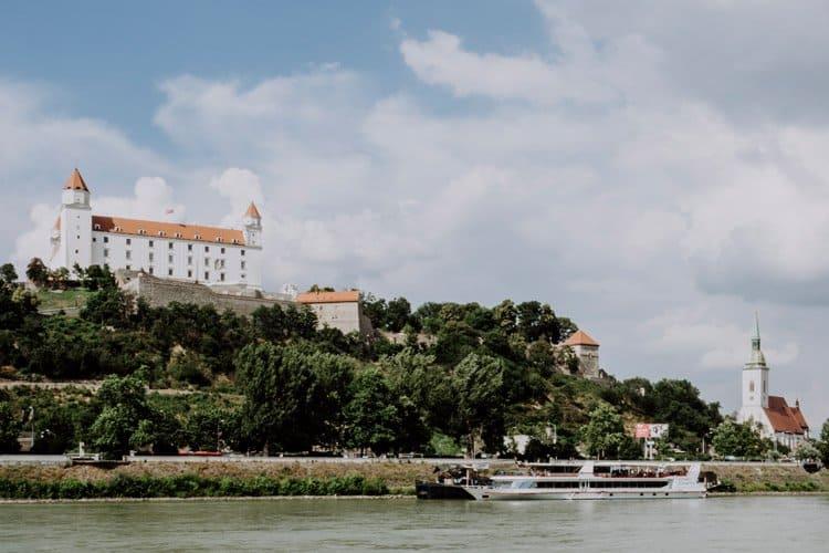 MIt dem Twin City Liner nach Bratislava