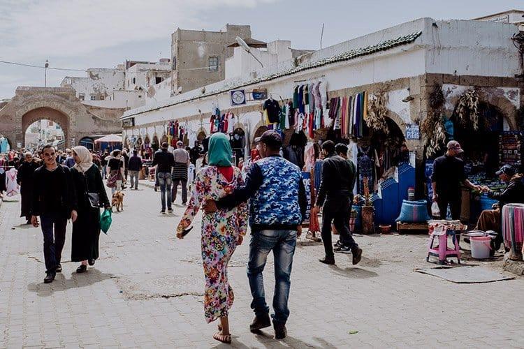 Der Strand von Essaouira