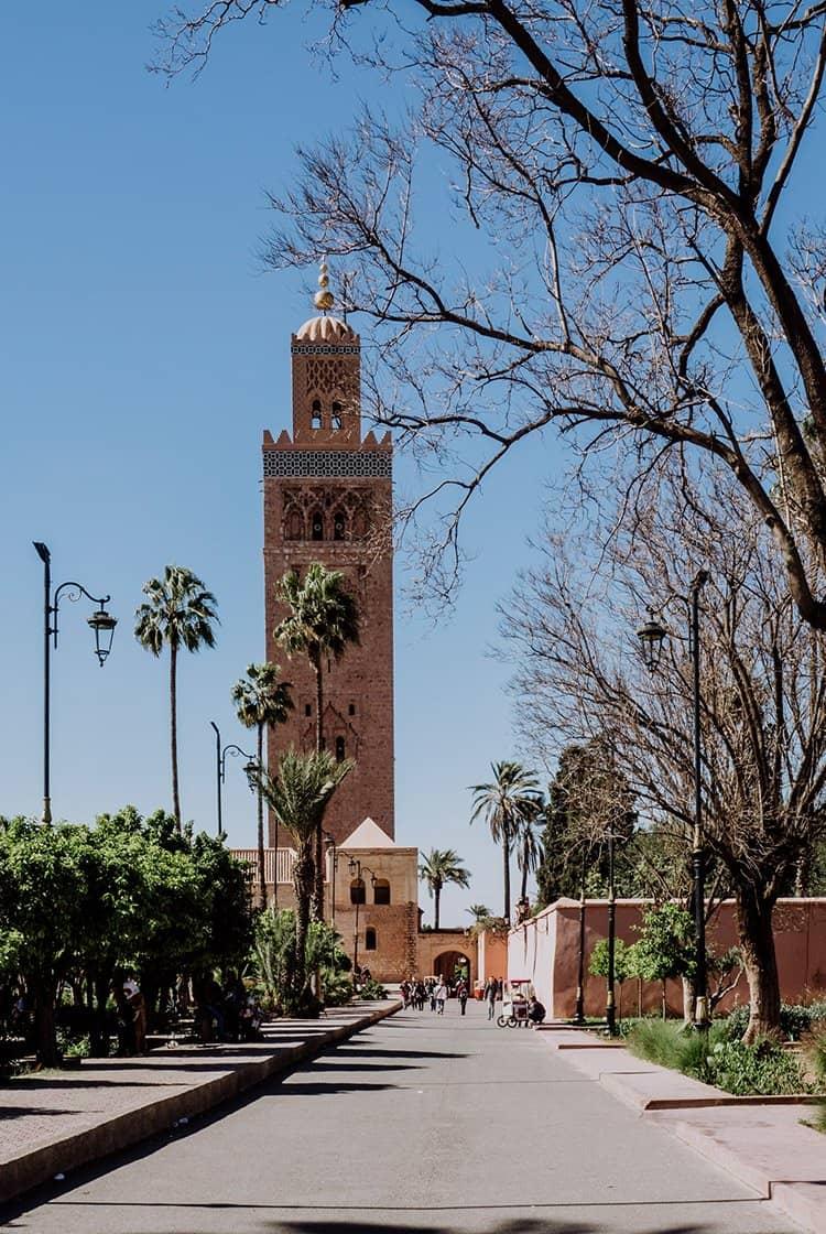 Die Koutoubia Moschee