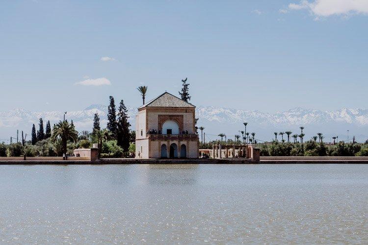 Die Menara-Gärten