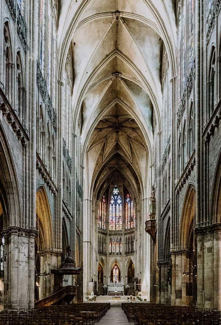 Die Kathedrale Saint-Étienne