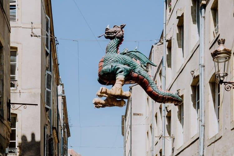 Die französische Altstadt von Metz