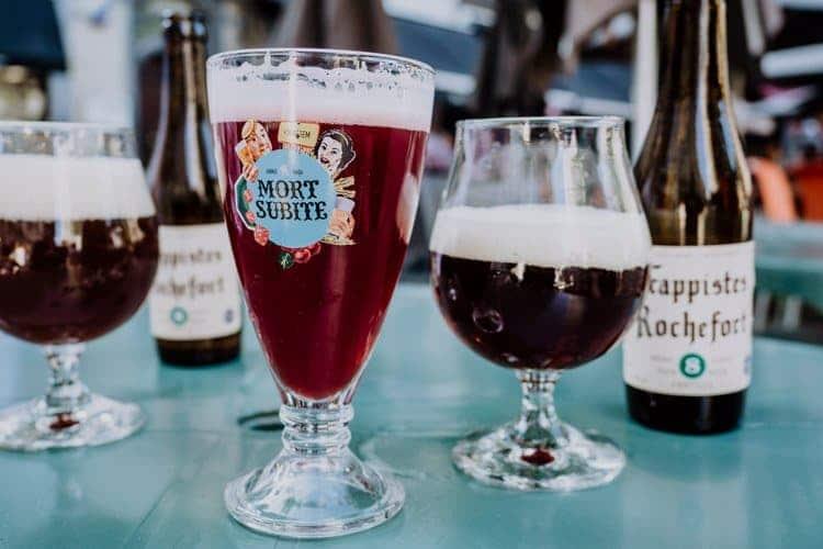 Place du Marché aux Légumes – laue Sommerabende und belgisches Bier