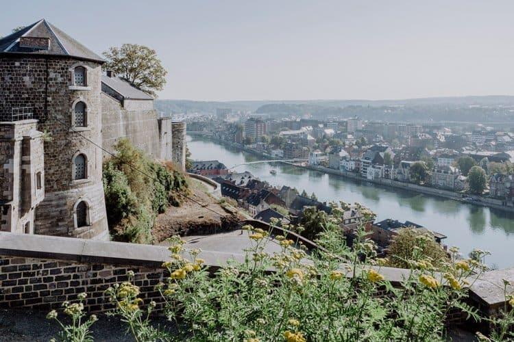 Die Zitadelle von Namur – eine der größten Festungsanlagen Europas