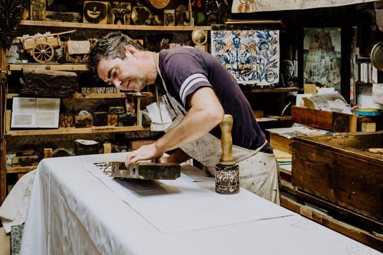 Besuche die älteste Textildruckerei der Emilia Romagna: Antica Stamperia Marchi