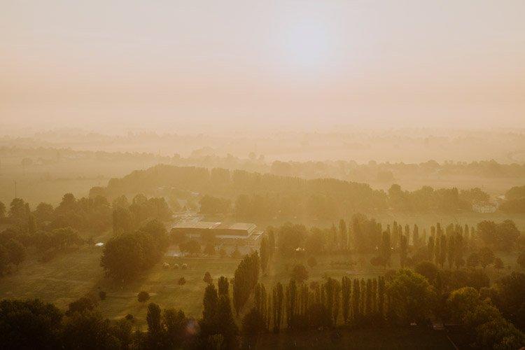 Ballonfahrt in der Emilia Romagna