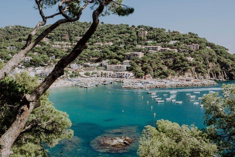 Der Küstenort Llafranc – Spanien – Costa Brava
