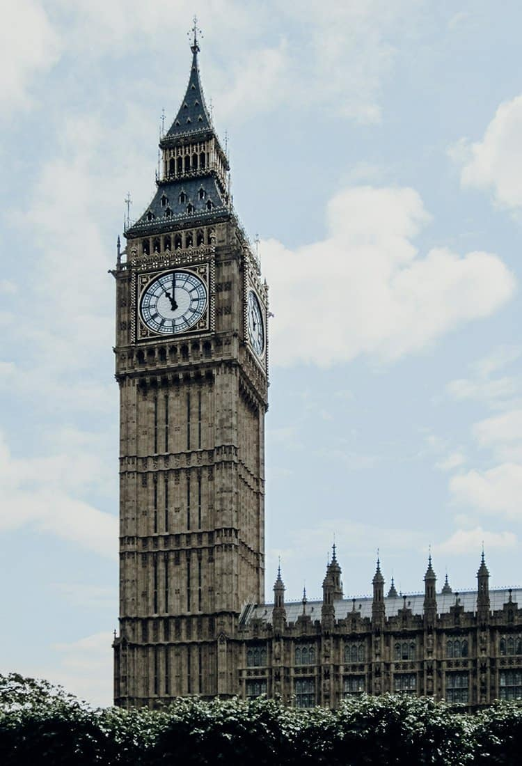 Der Big Ben in London