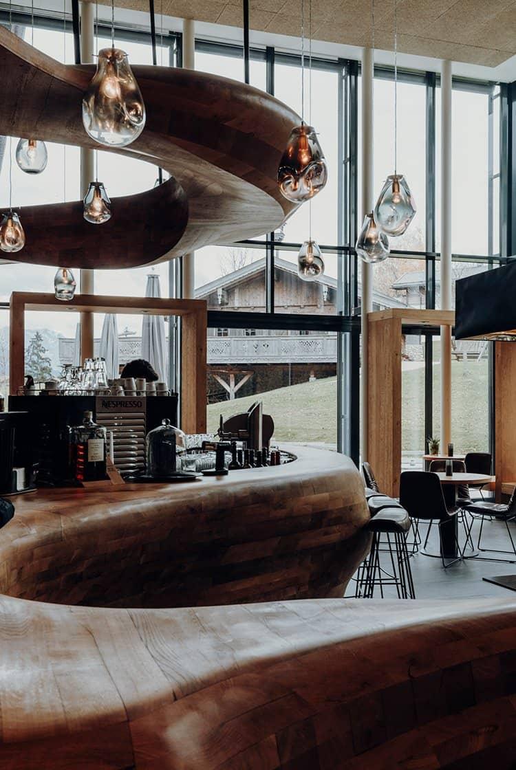 Das PURADIES Hotel & Chalets in Leogang im Salzburger Land