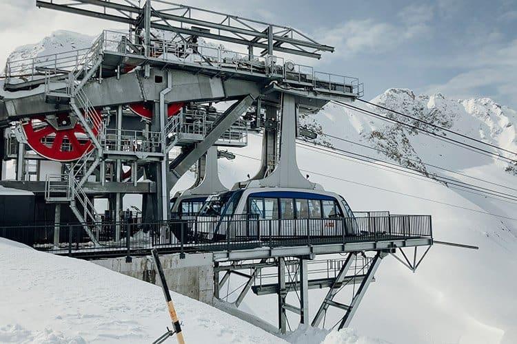Urdenbahn in Arosa, Schweiz