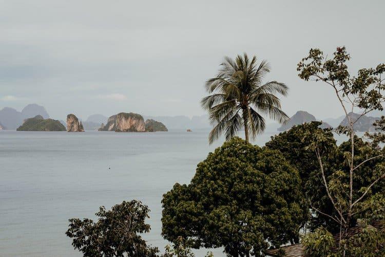 die Phang Nga Bucht und die Andamanensee