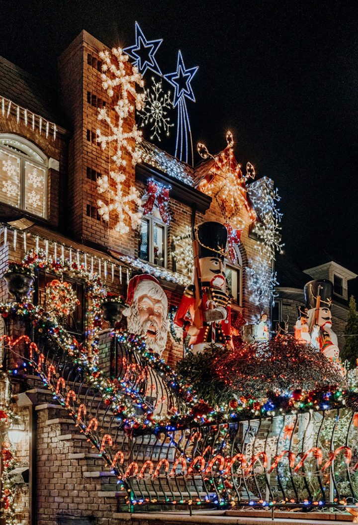 Dyker Heights Christmas Lights New York