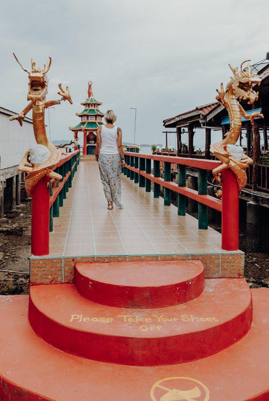 Chinesischer Schrein Lanta Old Town
