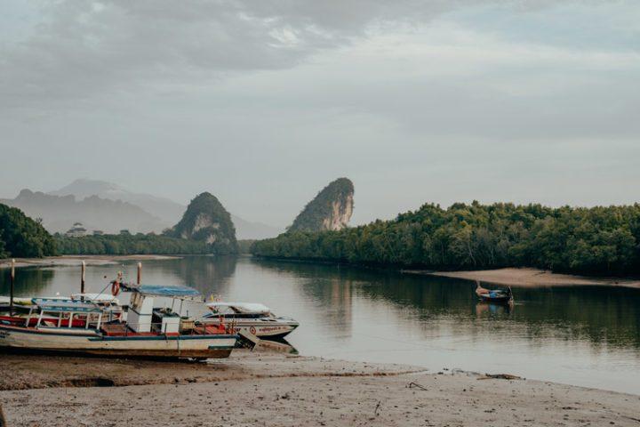 Sonnenaufgang Krabi Thailand