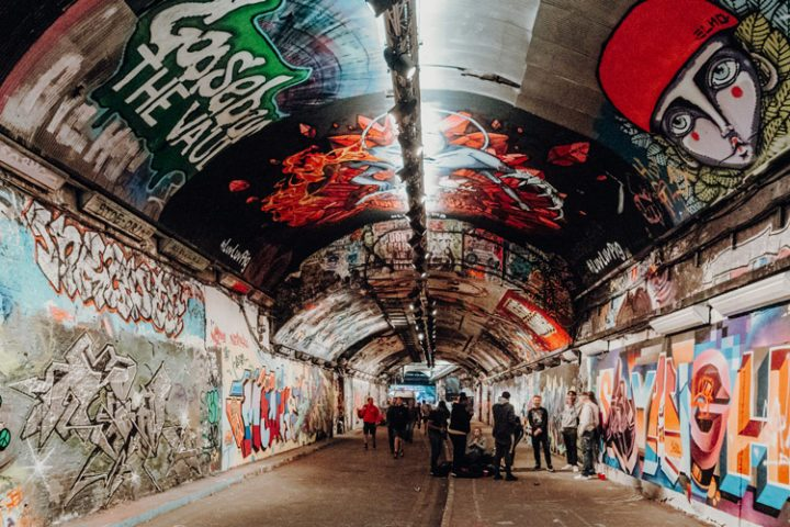 Leake Street Arches London