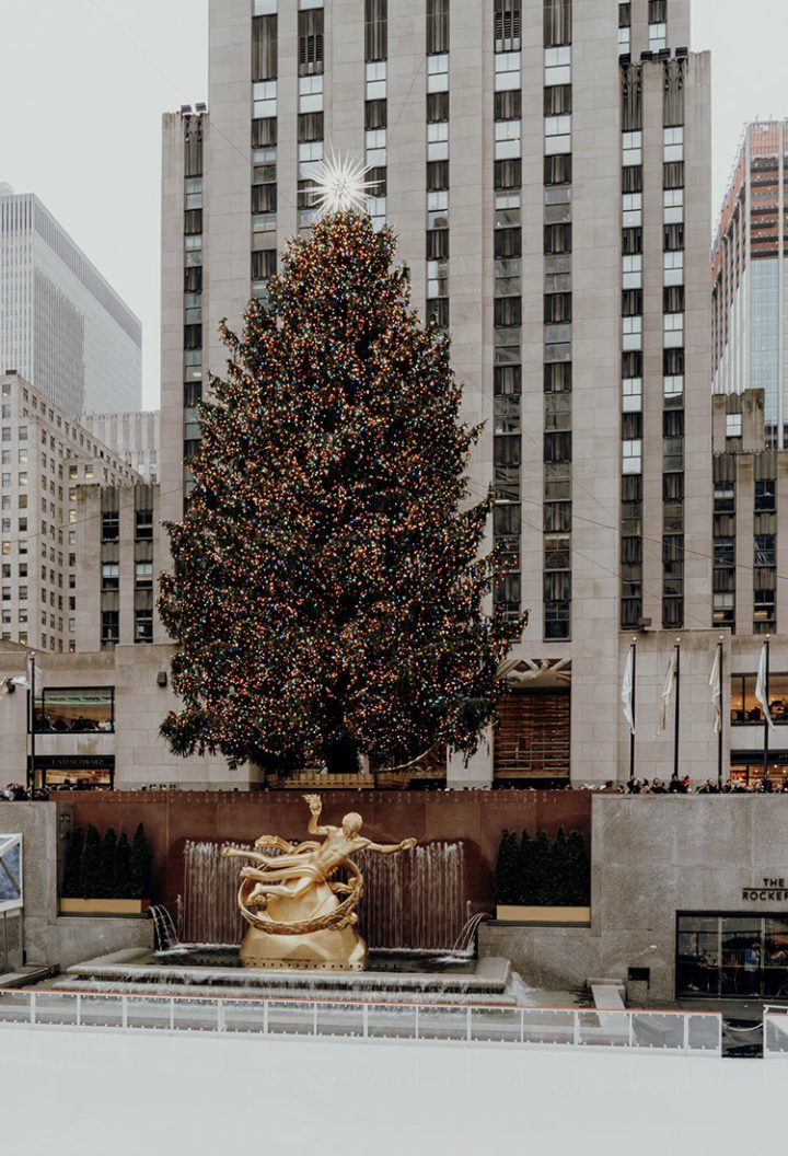 Weihnachten in New York – Rockefeller Center