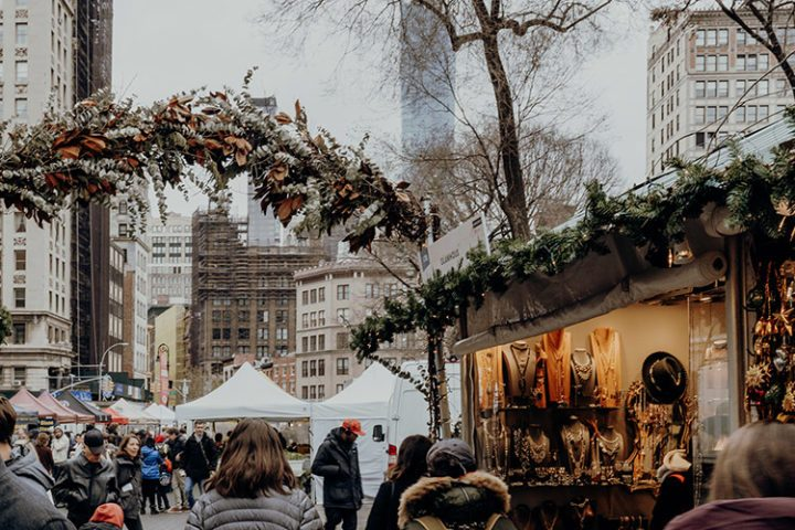 Weihnachtsmarkt am Union Square - Der Union Square Holiday Market