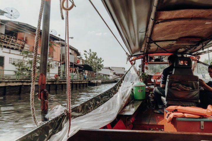 Das Khlong Saen Saep Kanalboot