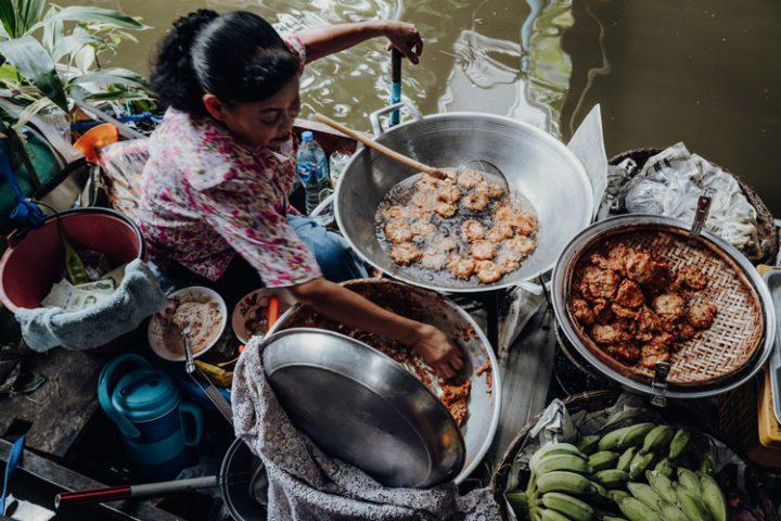 Essen in Thailand: Tod Mun Pla Krai – thailändische Fish Cakes