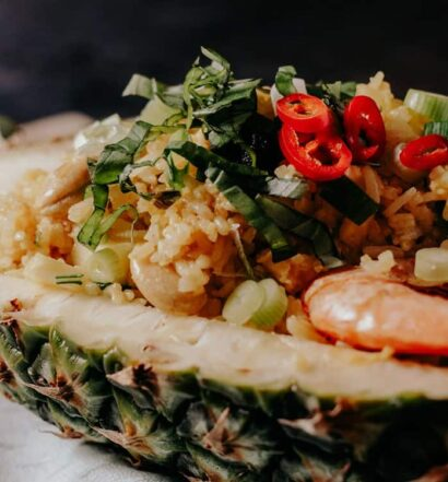 Gebratener Reis mit Ananas Rezept aus Thailand