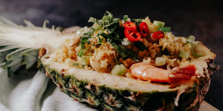 Gebratener Reis mit Ananas – Rezept aus Thailand | Reisehappen